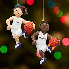 Basketball Player Ornament