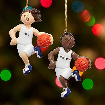 Basketball Player Bauble