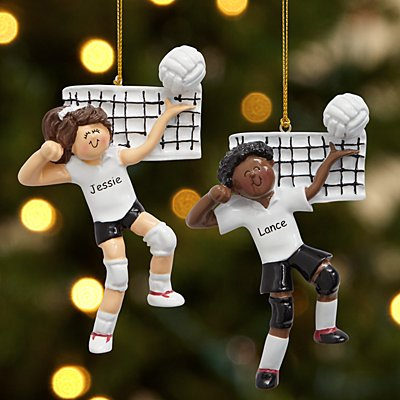 Volleyball Player Ornament