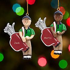 Golfer Ornament