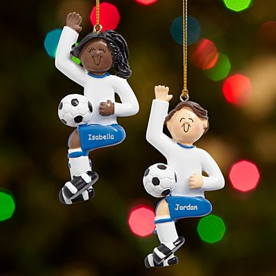 Soccer Player Bauble