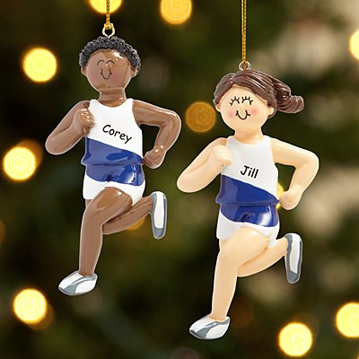 Runner Ornament