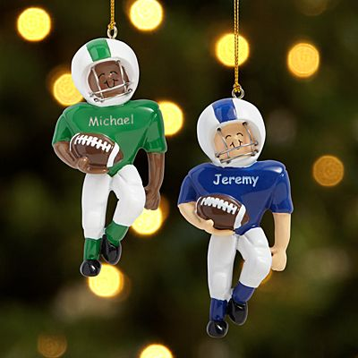 Football Player Ornament