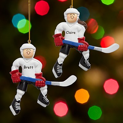 Hockey Player Ornament