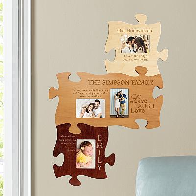 Family Wood Puzzle Set