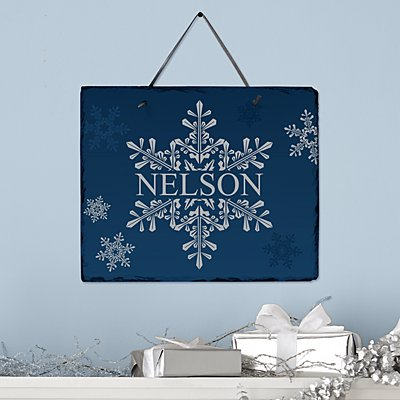 Winter Wonders Snowflake Slate