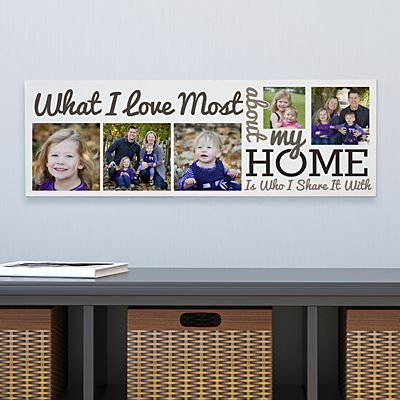 Heart of the Home Photo Canvas
