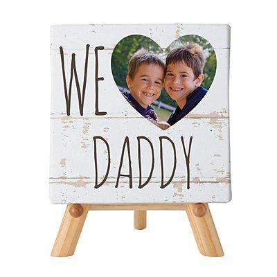 We Heart Photo Mini Canvas w/Easel