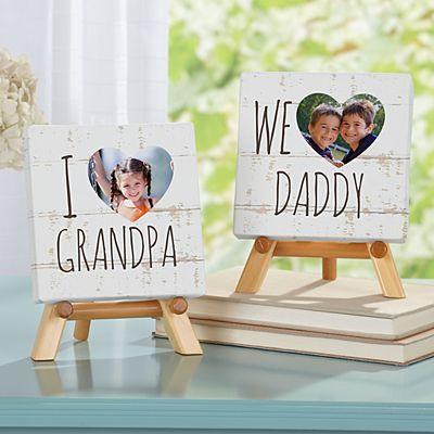 I/We Heart Photo Canvas