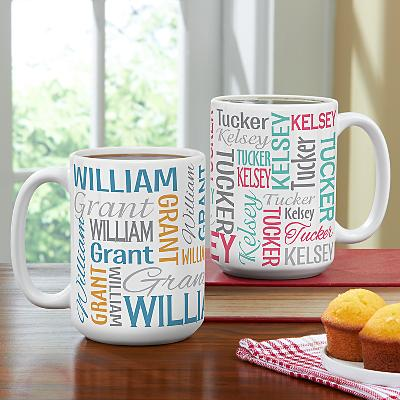 You Name It! Signature Mug