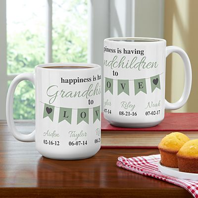 A Grandparents Love Mug