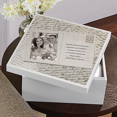 Past Memories Photo Memory Box