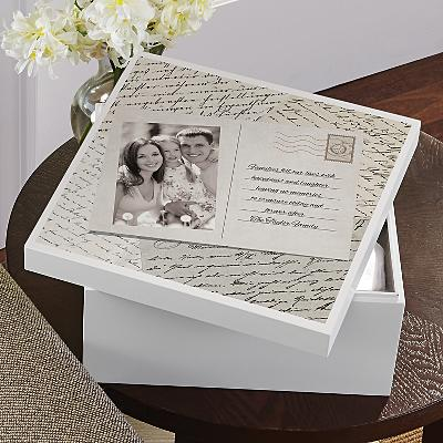Past Memories Photo Keepsake Box