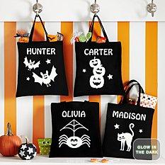 Super Spooky Halloween Glow In the Dark Treat Bags