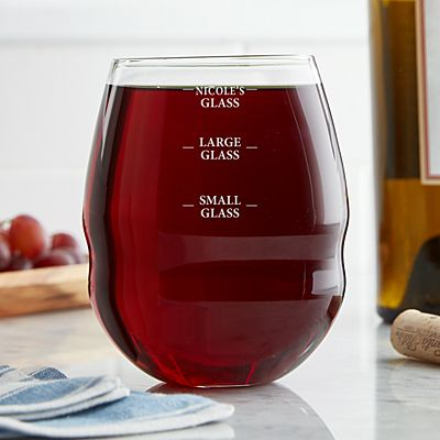 Perfect Pour Colossal Stemless Wine Glass