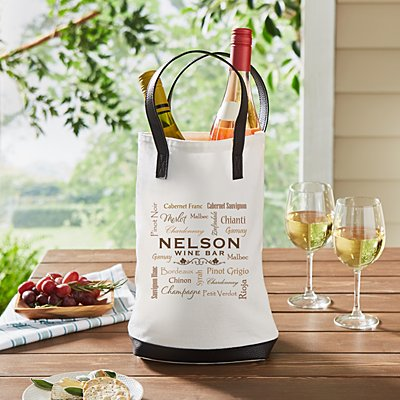 Wine Talk Two Bottle Wine Tote