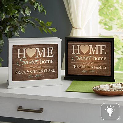 You Are Home Accent Light