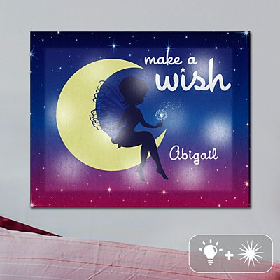 TwinkleBright® LED Make A Wish Canvas