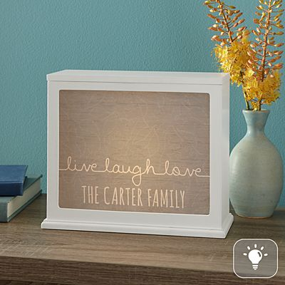 Scripted Live, Laugh, Love Accent Light