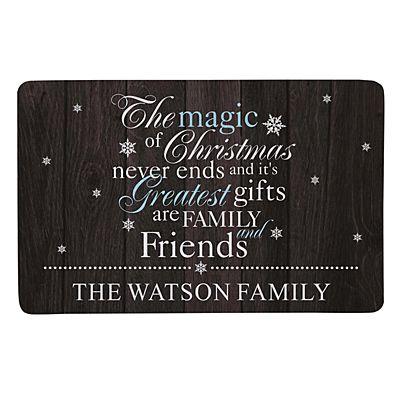 The Magic of Christmas Doormat - 17x27