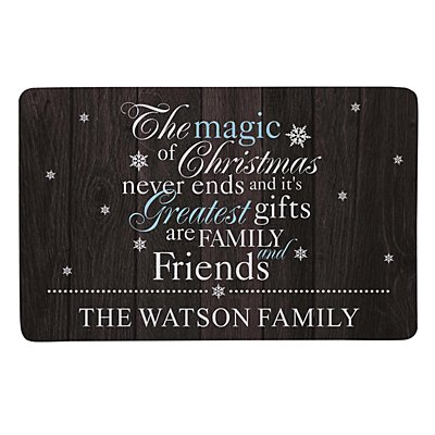 The Magic of Christmas Doormat - 17x27