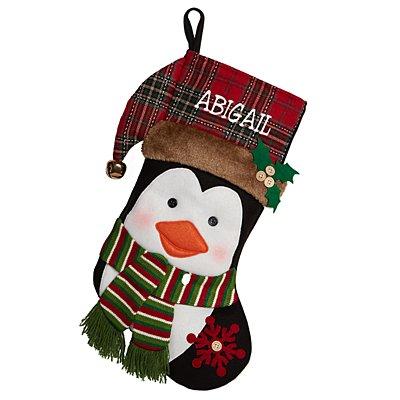 Festive Friends Stocking - Penguin