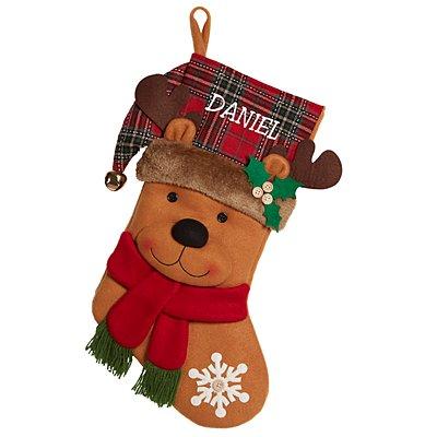 Festive Friends Stocking - Reindeer