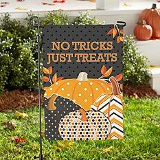 Pattern Pumpkin Garden Flag