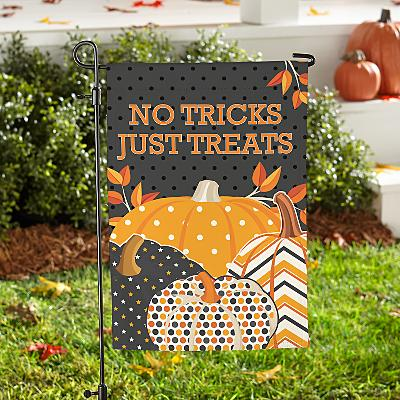 Pattern Pumpkin Garden Flag