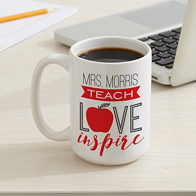 Teach, Love, Inspire 15oz Mug