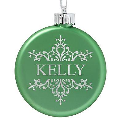 Birthstone Lighted Ornament - August - Snowflake