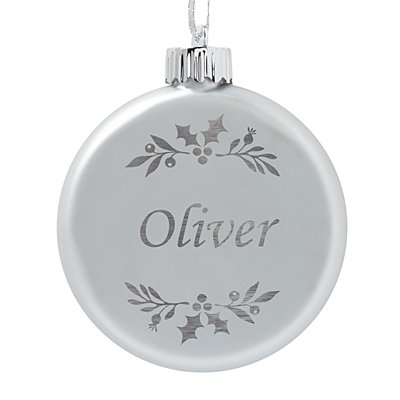 Birthstone Lighted Ornament - April - Holly