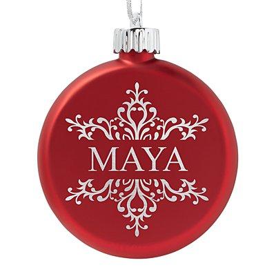 Birthstone Lighted Ornament - July - Snowflake