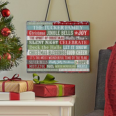 Christmas Blessings Slate