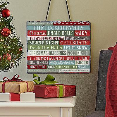 Christmas Blessings Slate