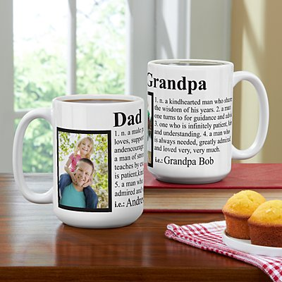 Definition Photo 15oz Mug