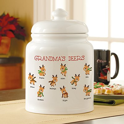 Little Deers Cookie Jar