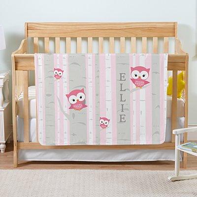 Little Owl Blanket