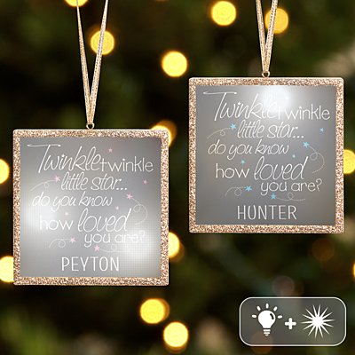 TwinkleBright® LED Little Star Ornament