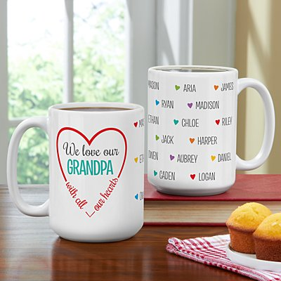 Loving Hearts 15oz Mug