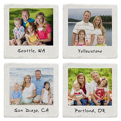 Memories Shared Photo Coasters - Multiple Photo