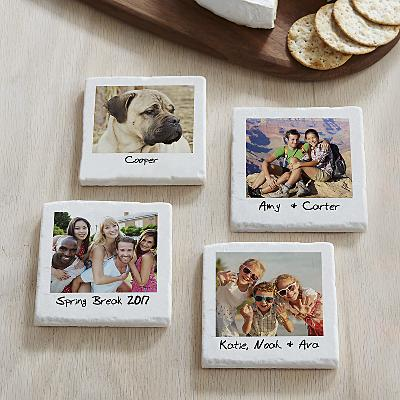Memories Shared Photo Coasters