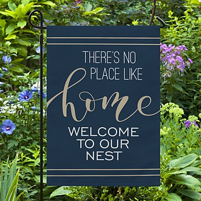No Place Like Home Garden Flag