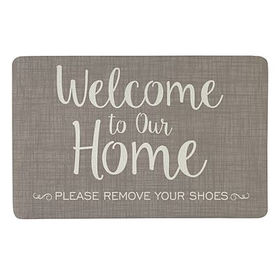 Welcome to Our Home Doormat - 17x27