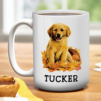 Dog Breed Puppy Mug by Linda Picken©