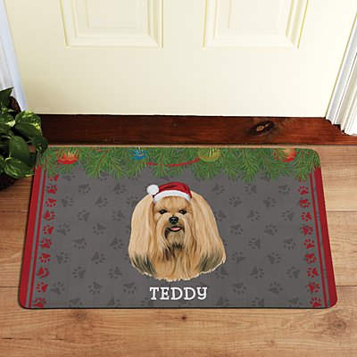 Lhasa Apso Doormat by Linda Picken©