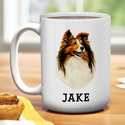 Herding Dog Group Mug by Linda Picken©