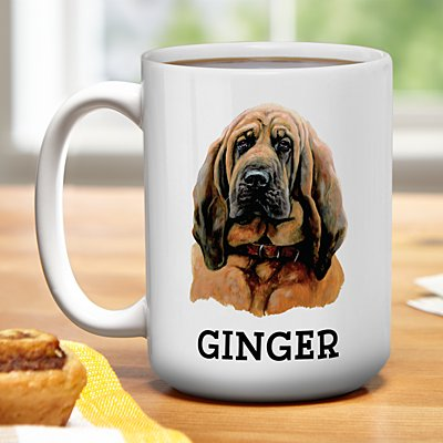 Hound Dog Group Mug by Linda Picken©