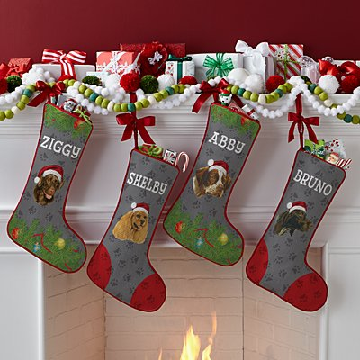Sporting Dog Group Stocking by Linda Picken©