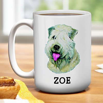 Terrier Dog Group Mug by Linda Picken©